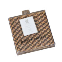 Eziba Bamboo Coaster 6-piece Set