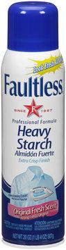 Faultless® Original Fresh Scent Heavy Starch 20 oz. Aerosol Can