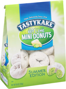 Tastykake® Summer Edition Key Lime Mini Donuts 10 oz. Bag