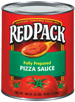 RedPack Fully Prepared Pizza Sauce