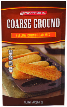Morrison's® Coarse Ground Yellow Cornbread Mix 6 oz. Pouch