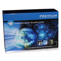 Premium Compatible Toner Cartridge, 4000 Page Yield, Cyan