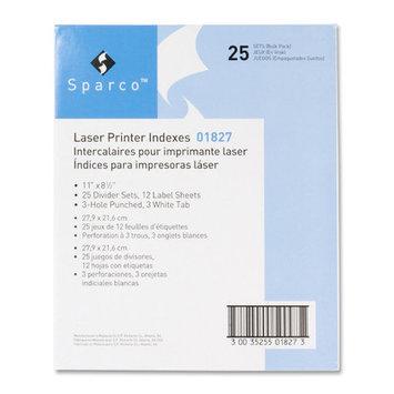 Sparco Laser Printer Indexing System Divider