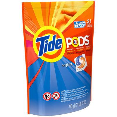 Tide PODS Laundry Detergent Pacs, 31-load tub, Original Scent