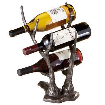 Mwcbk Deer Antler Wine Bottle Holder.