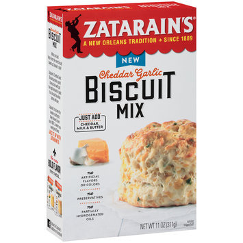 Zatarain's® Cheddar Garlic Biscuit Mix 11 oz. Box