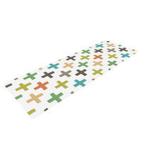Kess Inhouse Hipster Crosses Repeat by Daisy Beatrice Yoga Mat