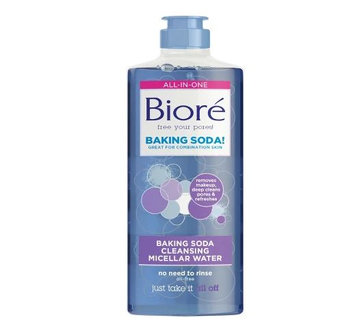 Bioré Baking Soda Cleansing Micellar Water Baking Soda Cleanser
