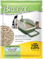 Purina Tidy Cats Breeze Cat Litter Pellets Refill for Multiple Cats 3.5 lb. Pouch