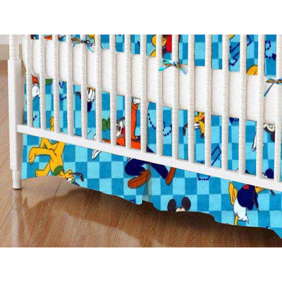 Stwd Mickey Mouse and Friends Crib Skirt