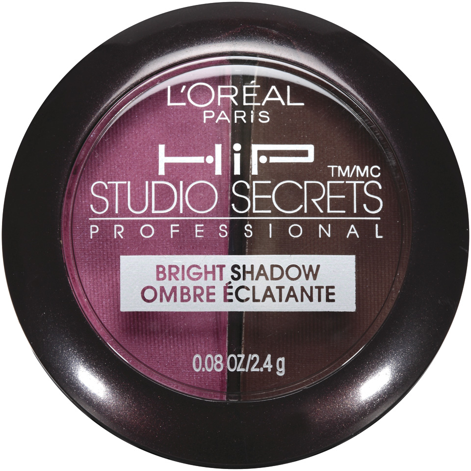 Studio Secrets Professional Hip 118 Brazen Bright Shadow Duo .08 Oz Plastic Compact