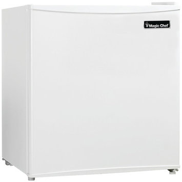 Magic Chef Mcbr160w2 1.6 Cubic-ft. Refrigerator (white)