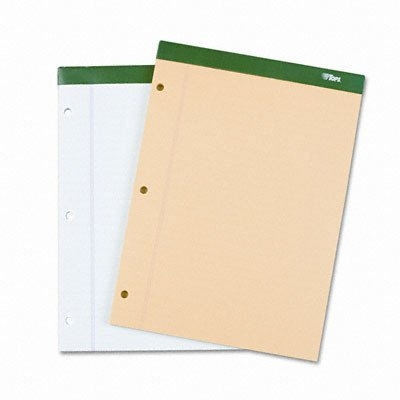 TOPS Double Docket Ruled Pads with Extra Stiff Back