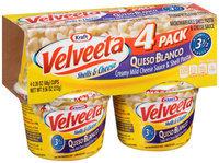 Kraft Velveeta Queso Blanco Shells & Cheese 4-2.39 oz. Microcups