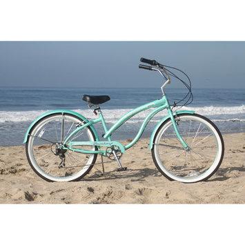 Beachbikes Women's Bella Classic Beach Cruiser Bike Frame Color: Mint Green
