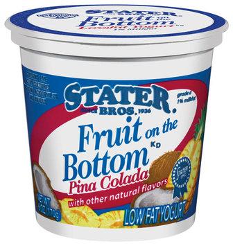 Stater Bros. Fruit On The Bottom Pina Colada Yogurt 6 Oz Cup