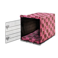 Bowsers Lux Crate Cover Tickled Pink, Large