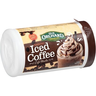 Old Orchard Premium Roast Cafe Mocha Iced Coffee 12 fl. oz. Canister