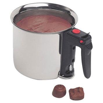 World Cuisine A4784916 Bain - Marie 1.5 Qt Stainless Steel Double Boiler