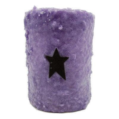 Starhollowcandleco Star Pillar Candle Size: 4