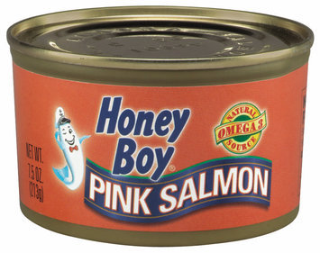 Honey Boy  Pink Salmon 7.5 Oz Can