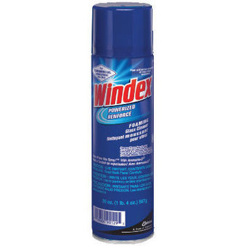 Windex Powerized Formula Glass Cleaner with Ammonia-D Capped Trigger Spray Bottle