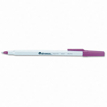 Universal Economy Ballpoint Stick Oil-Based Pen, 12/Pack