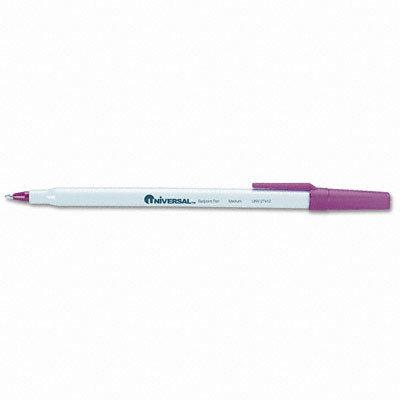 Universal Economy Ballpoint Stick Oil-Based Pen, 12/Pack