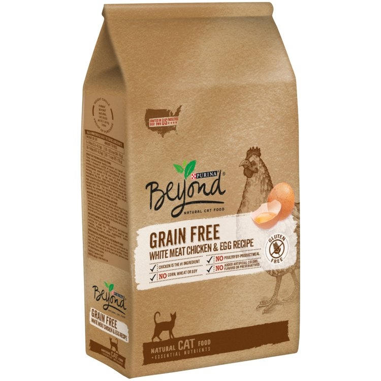 Purina Beyond Cat Food >> Purina Beyond Grain Free White Meat Chicken & Egg Recipe Cat Food 3 lb Bag Reviews | Find the ...