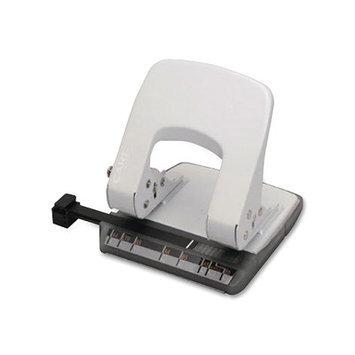 CARL MFG CUI62020 2- Hole Punch 18 Sheet Cap White