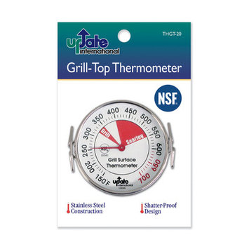 Update International THGT-20 Grill Top Thermometer
