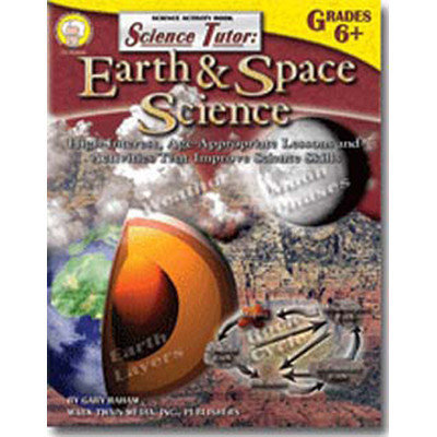 Carson-dellosa Publishing Science Tutor Earth & Space Science