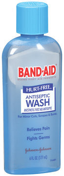 Band-Aid® Brand First Aid Hurt-Free™ Antiseptic Wash Wound Cleansing