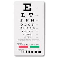 Prestige Medical Snellen Pocket Eye Chart