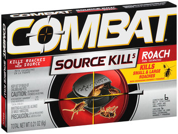 Combat® Source Kill 5 Roach Bait Station for Large and Small Roaches 0.21 oz. Box