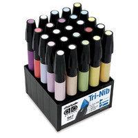 Chartpak SETF 25-Color Pastel Marker Set