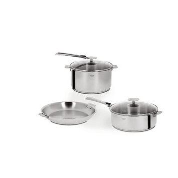 Cristel Casteline Removable Handle 7-Piece Cookware Set