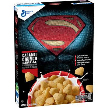 Superman Caramel Crunch Cereal 11.8 oz. box