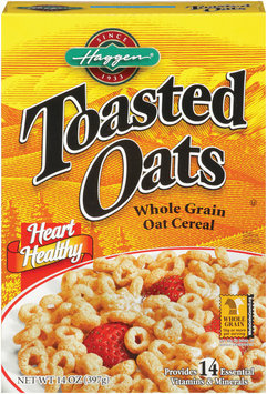 Haggen® Toasted Oats Whole Grain Oat Cereal 14 oz.