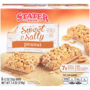 Stater Bros.® Sweet & Salty Peanut Granola Bars 6-1.2 oz. Bars