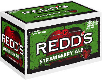 Redd's Strawberry Ale 4x6-12 fl. oz. Bottles