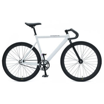 Ideacycle C8 Aero Fixed Gear Road Bike Color: White, Size: 54cm