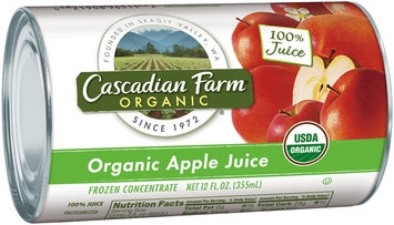 Cascadian Farm® Organic Apple Juice Frozen Concentrate 12 fl. oz. Can