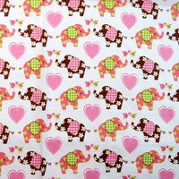 Stwd Elephant Love Pack N Play Fitted Playard Sheet