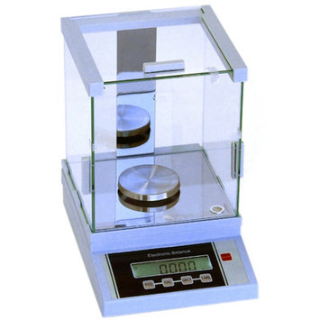 Hardware Factory Store 200G x 0.001G Digital Precision Analytical Balance Lab Scale Size: 16