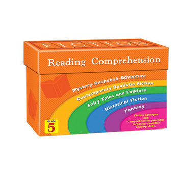 Teacher Created Resources 8875 Fiction Reading Comprehension Cards Grade 5