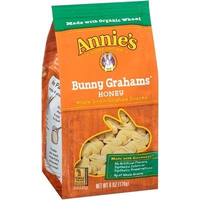 Annie's Homegrown® Bunny Grahams® Honey Whole Grain Graham Snacks