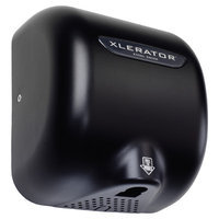 Excel Dryer XLERATOR Automatic Surface Mounted 208 Volt Hand Dryer in Raven Black