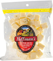 Hoffman's Pepper Jack W/Jalapeno Peppers Cheese Snack Cubes  12 Oz Peg