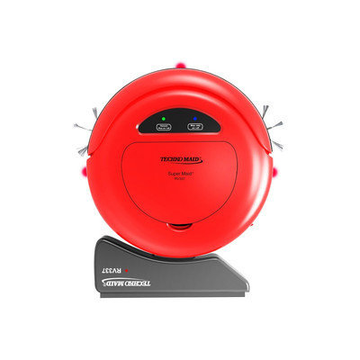 Techko Maid Vacuums RV337 Robotic Vacuum in Red Reds / Pinks RV337-R